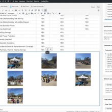 GALLERIES: To edit an existing gallery, click anywhere in gallery and then click the pencil icon.