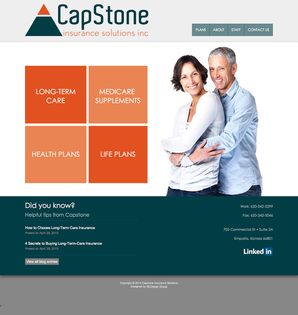 capstone-insurance-website