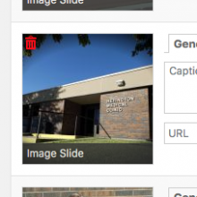 METASLIDER: Delete an image by hovering over it and clicking the trash icon