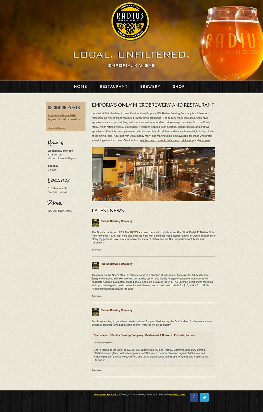 radius-brewing-company-website