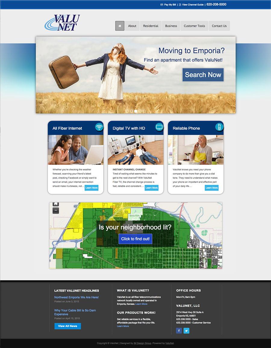 valunet-website