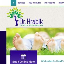 Dr. Brent Hrabik Website